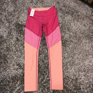NWT OUTDOOR VOICES Pink Sz S 7/8 Springs Leggings